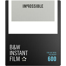 Impossible Instant Black & White Film for Polaroid 600 type cameras (4516)