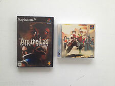 Lot Pack Arc the Lad 3 & 4 SONY Playstation PS1-PS2 JAP import