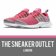 Filles nike air presto (gs) taille uk 5.5 gris rose baskets 90 95 tn sneakers