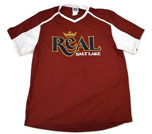 MLS Mens Real Salt Lake Soccer Jersey NWT XL