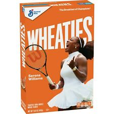 Serena Williams Wheaties Cereal Tennis Great Very Rare!
