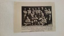 Dynes Scoundrels Hamilton Ontario 1911 Indoor Baseball Team Picture