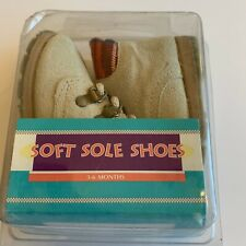 VTG Sears, Roebuck And Co. Soft Sole Baby Boots Size 2 Fits 3-6 Months