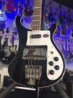 NEW 2021 Rickenbacker 4003JG Jetglo (Black) 4-String Bass 4003 | OHSCase #754