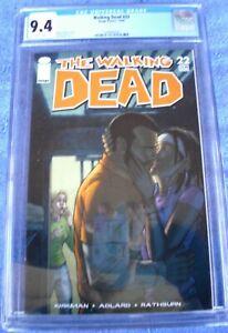 The Walking Dead comic #22 CGC 9.4