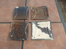 Group of 4 Ceiling Tin Squares