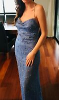 Robbie Cranfield dress, size 10, blue colour, brand NEW with tags