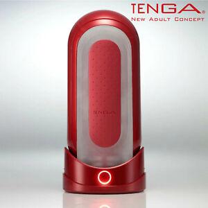 Tenga Penis Male Sex Toy Flip 0 Red Warmer Package Set Masturbatore Riscaldante