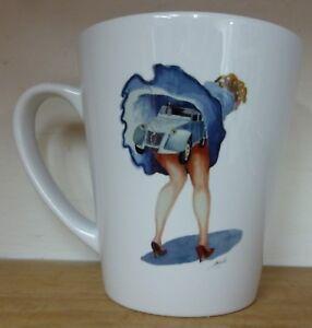 Citroen 2CV Cheeky Latte Mug choice of 6 UK shop Ideal Gift