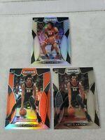 2019-20 Panini Prizm Draft Picks Nic Claxton (3) Lot Orange Silver RC Nets