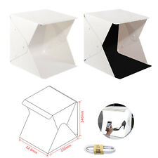 Photo Studio Tente Mini photographie Boîte à lumière 8.8x9.0x9.4 en DEL Portable Mini Fo
