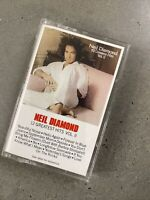 Neil Diamond 12 Greatest Hits,Vol. 2  Cassette Tape Columbia Records Like-New