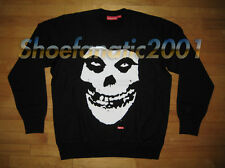 Supreme Misfits Crewneck Sweatshirt Pullover Large Black Box Logo non Hoody Punk