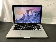 Apple Macbook 13-inch Laptop A1278 MB466LL/A 2.0GHz Core 2 Duo 4GB RAM 250GB SSD