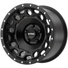 "KMC KM529 Holeshot 17x8.5 5x120 +34mm Satin Black Wheel Rim 17"" Inch"
