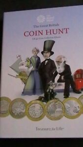 £2 TWO POUND UK COIN HUNT COINS FOR ROYAL MINT ALBUMS 1999 -2016