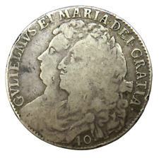 More details for 1691 william & mary scotland silver 40 shillings coin