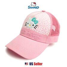 8c9b969d43140 Sanrio Hello Kitty Adjustable Golf Cap Basic Mesh Back   Pink