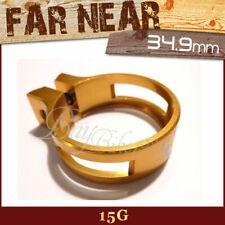 Gold 34.9mm A13 gobike88 MOWA QR Alloy Seatpost Clamp 28g