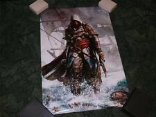 Oficial Ubisoft autorizado Cartel ~ Assassins Creed Iv Black Flag ~ nuevo