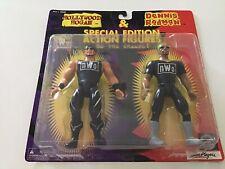 WWF WWE WCW 1997 Special Edition Figures Hollywood Hulk Hogan, Dennis Rodman
