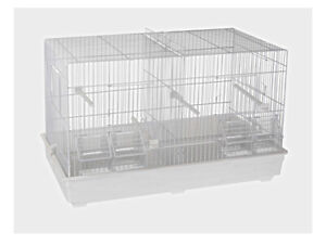 Double Breeding Cage 55cm Cage For Canary, Finch , Small Birds