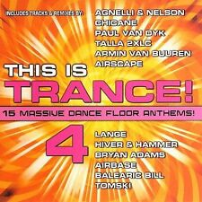 FREE US SHIP. on ANY 2 CDs! NEW CD This Is Trance: This Is Trance 4