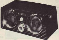 1958 ZENITH A512W RADIO SERVICE MANUAL SCHEMATIC REPAIR