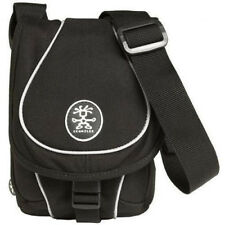Crumpler Crisp E 600 Compact Camera Media Pouch Case - Black/Black/Silver