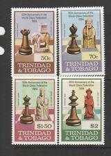 Trinidad & Tobago 1984 Chess Federation UM/MNH SG 652/5