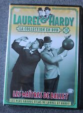 Laurel & Hardy, les maitres de ballet, la collection en DVD N° 19