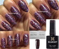 Bluesky Blz39 Purple Multi Glitter Sparkle Nail GEL Polish UV LED Soak off
