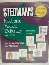 Stedman's Electronic Medical Dictionary Version 6.0 CD - ROM *New Sealed*
