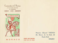 ENVELOPPE 1ER JOUR COMMEMORATION PRINCESSE CAROLINE DE MONACO