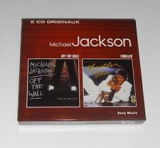"""MICHAEL JACKSON  """" OFF THE WALL + THRILLER """" 2 CD (Coffret) Special Edition"""