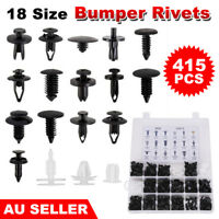 415pcs Car Body Push Retainer Pin Rivet Trim Clips Panel Moulding Assortment Kit