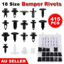 415pcs Car Body Push Retainer Pin Rivet Trim Clip Panel Moulding Assortment Kit