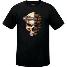 Genuina Harley-Davidson Mens Split cráneo Southampton Distribuidor T-Shirt, L