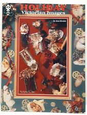 Holiday Victorian Images Book Suzanne McNeill Paper Craft Embellishments