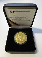 € 100 EURO MONETA ORO Germania 2004 UNESCO patrimonio culturale comune di Bamberg * D *