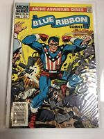 Blue Ribbon Comics (1982) # 5,6,7,8,10,11,14 Canadian Price Variant CPV