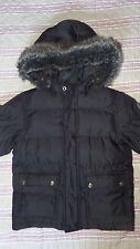 joli Manteau doudoune noir Petit Bateau 6 Ans 114 cm tbe