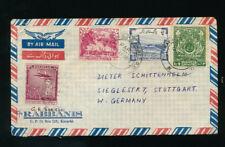 Pakistan, Brief 1957 aus Karachi nach Stuttgart   (H41)