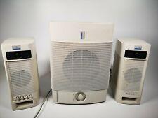 Altec Lansing Vintage 2.1 Speaker System ACS400 Speakers & ACS250 Subwoofer