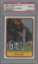 1981 Donruss Golf Jerry Pate Statistical Leader PSA 9 MINT 81923618