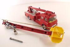 Corgi 1127 BEDFORD camion pompiers SIMON SNORKEL fire engine pour restauration