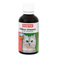Beaphar - Fellkur Intensiv für Katzen - 50 ml - Laveta Super Fell Katze Pflege
