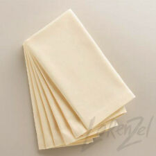 "120pc Bulk Polyester 17""x17"" Ivory Table Napkins Wedding Party Kitchen Linens"