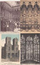 Lot 4 cartes postales anciennes AUCH cathédrale 4