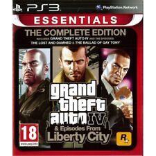 Grand Theft Auto IV 4 Gta Édition Complète Jeu PS3 (ESSENTIALS)